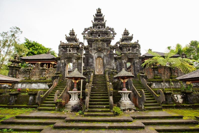 Besakih σύνθετο Pura Penataran Agung στοκ φωτογραφία με δικαίωμα ελεύθερης χρήσης