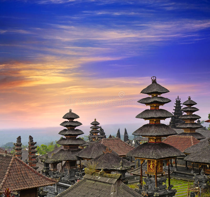besakih pura στοκ φωτογραφίες με δικαίωμα ελεύθερης χρήσης