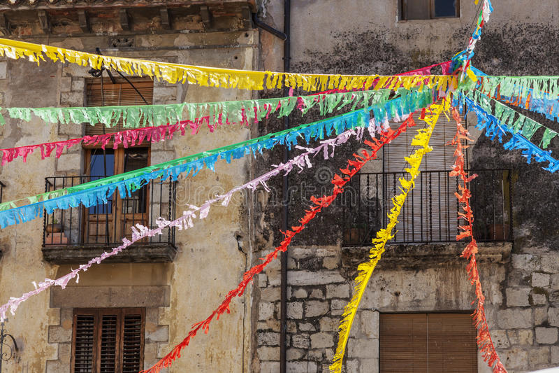 Besalu Catalonia, Spanien royaltyfria bilder