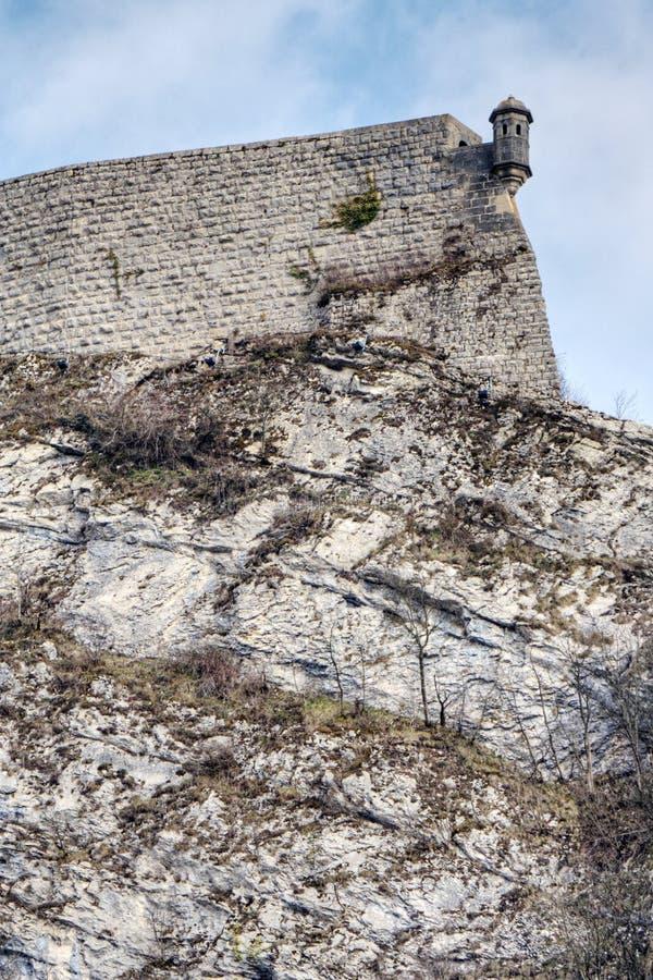besancon citadelle zdjęcia stock