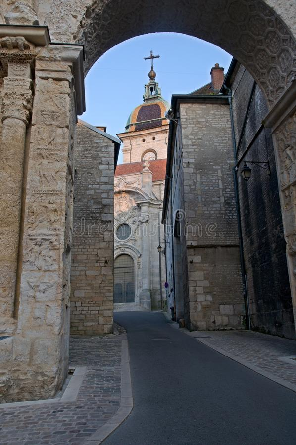 Besancon, França imagens de stock royalty free
