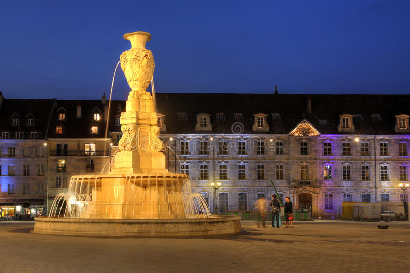 Download Besancon, France editorial image. Image of france, fountain - 28386775