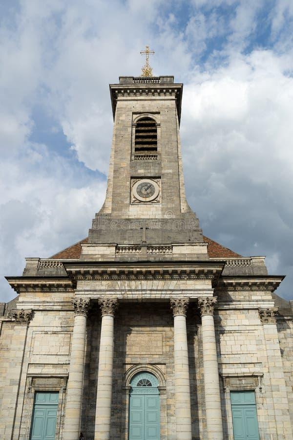 BESANCONS, FRANCE/EUROPE - 13 ΣΕΠΤΕΜΒΡΊΟΥ: Εκκλησία του ST Peter μέσα στοκ φωτογραφίες