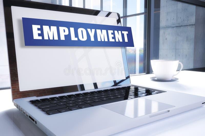 beschäftigung stock abbildung