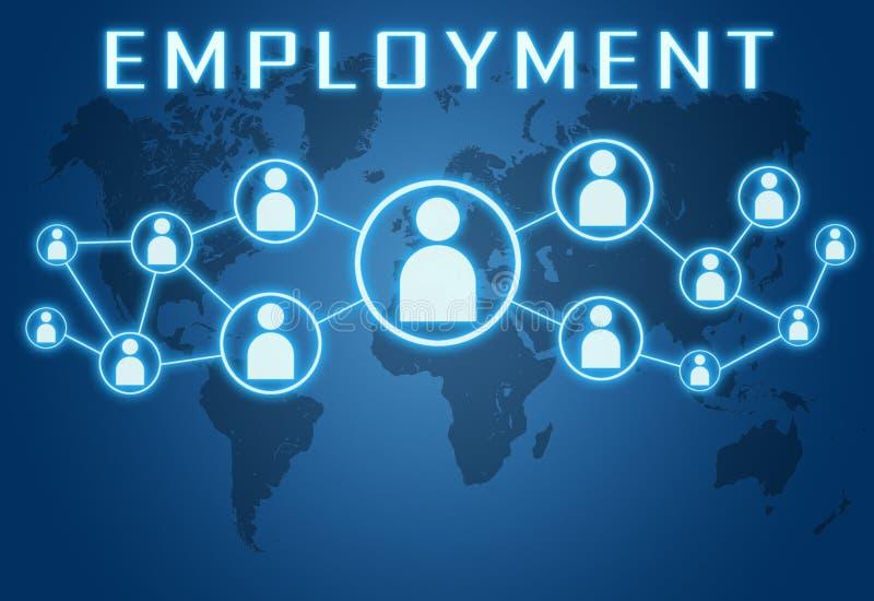 beschäftigung vektor abbildung