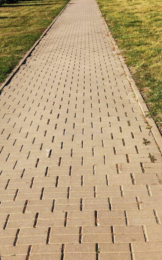 Beschadigde die asfaltweg met potholes, door freeze-thaw cycli in de winter wordt veroorzaakt slechte weg Gebroken bestratingenst stock afbeelding