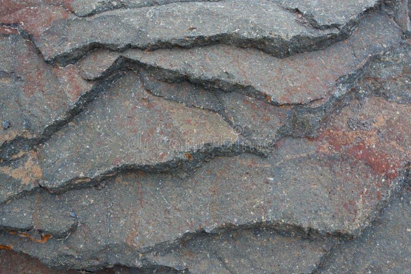 Beschaffenheit überlagert metamorphe Gesteine lizenzfreies stockbild