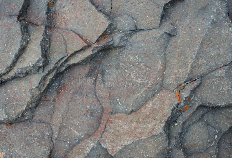 Beschaffenheit überlagert metamorphe Gesteine stockfotografie
