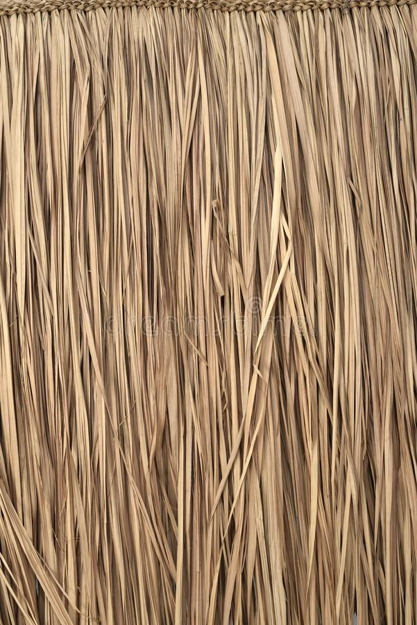 Beschaffenheit der artezanal Strohmatte lizenzfreies stockfoto