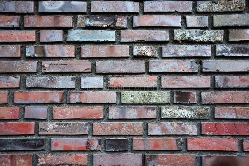 Beschaffenheit der Backsteinmauer stockbilder