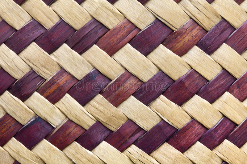 Beschaffenheit Der Bambuswebart Stockfotos