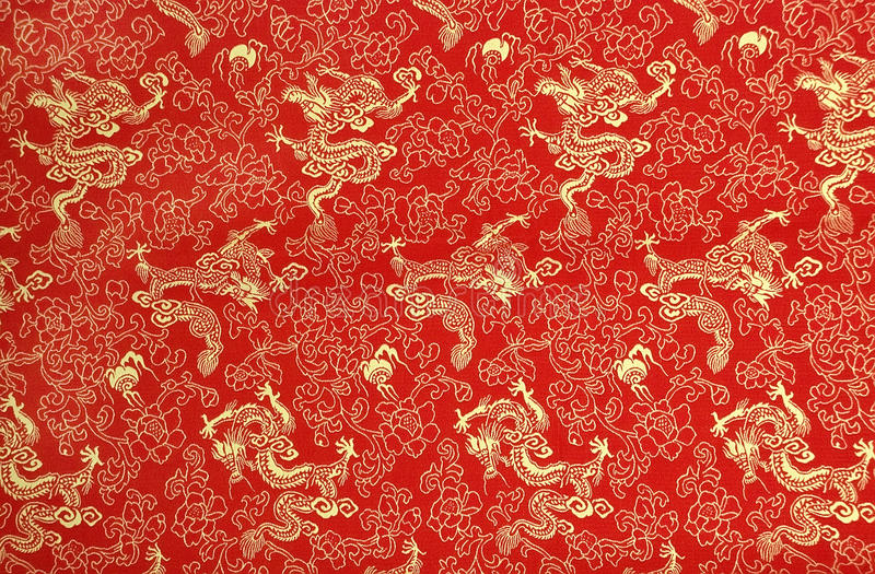 Beschaffenheit der chinesischen Seide lizenzfreie stockfotos