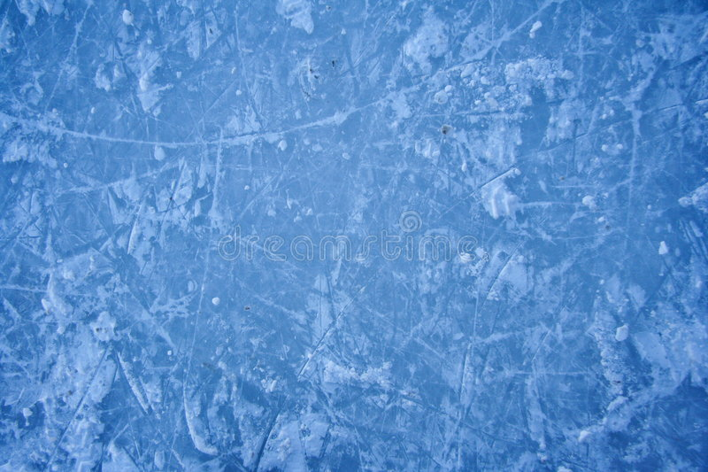Beschaffenheit der Eisbahn des Eises draußen lizenzfreies stockbild