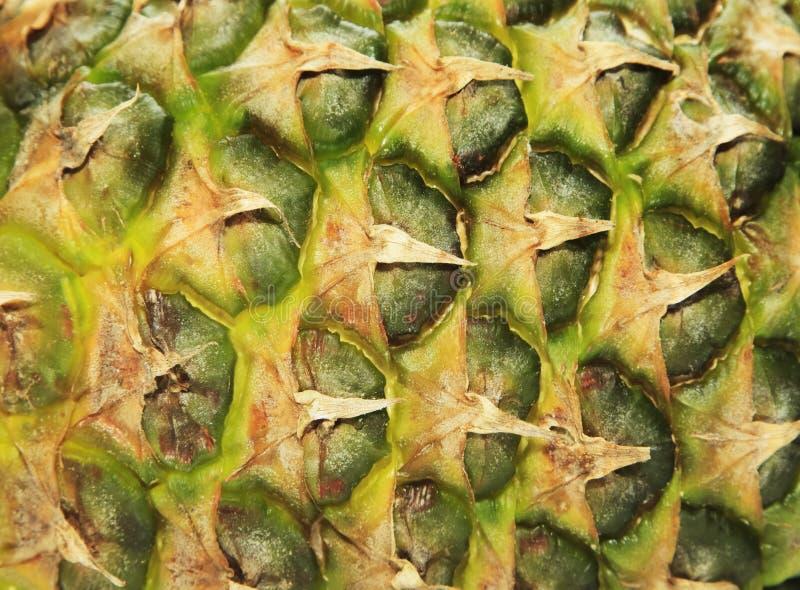 Beschaffenheit der frischen reifen Ananas stockfoto