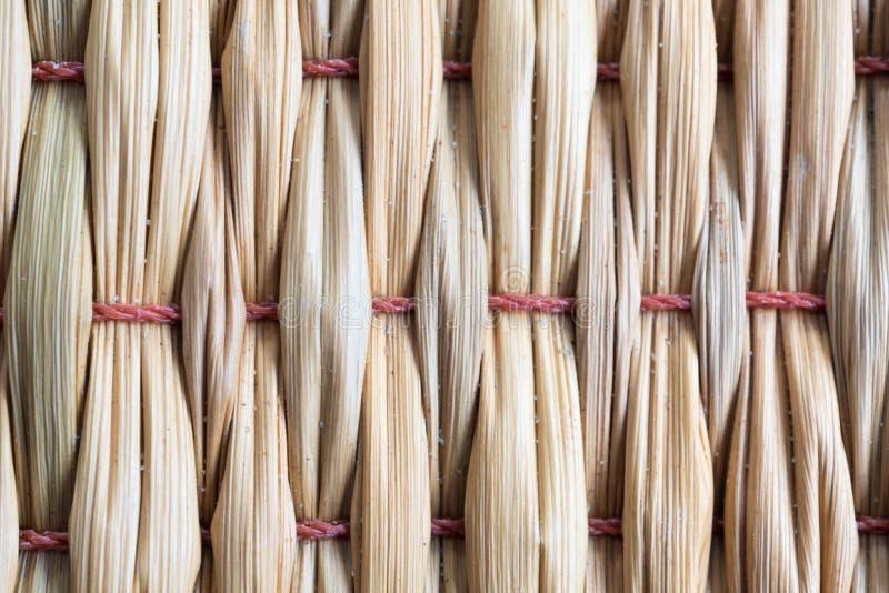 Beschaffenheit der getrockneten Reedwebart als der Matte lizenzfreie stockbilder