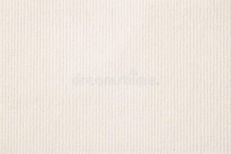 Beschaffenheit der hellen Creme in einem Streifenpapier, des leichten Schattens für Aquarell und der Grafik Moderner Hintergrund, stockfotos