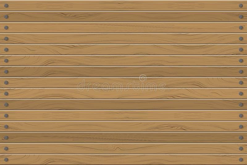 Beschaffenheit der horizontalen Wand der Täfelungen, abstrakte Hintergrundvektorillustration vektor abbildung