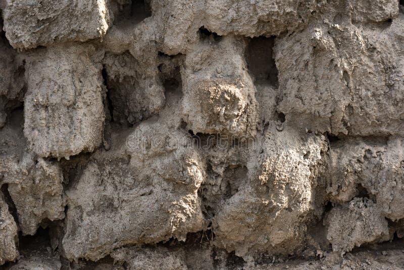 Beschaffenheit der ungleichen Zementwand lizenzfreies stockbild