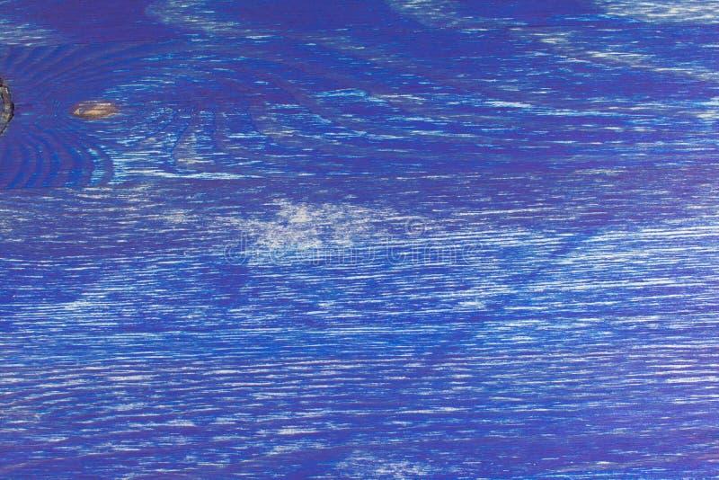 Beschaffenheit des Blaus hölzern gemalt lizenzfreie stockfotografie