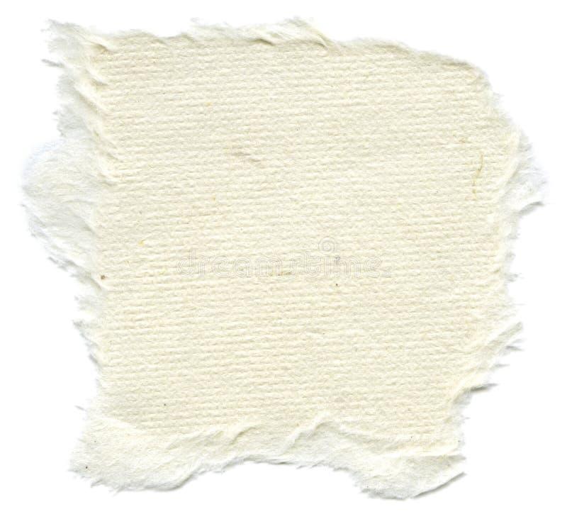 Lokalisierte Reis-Papier-Beschaffenheit - Sahneweiß  lizenzfreie stockbilder