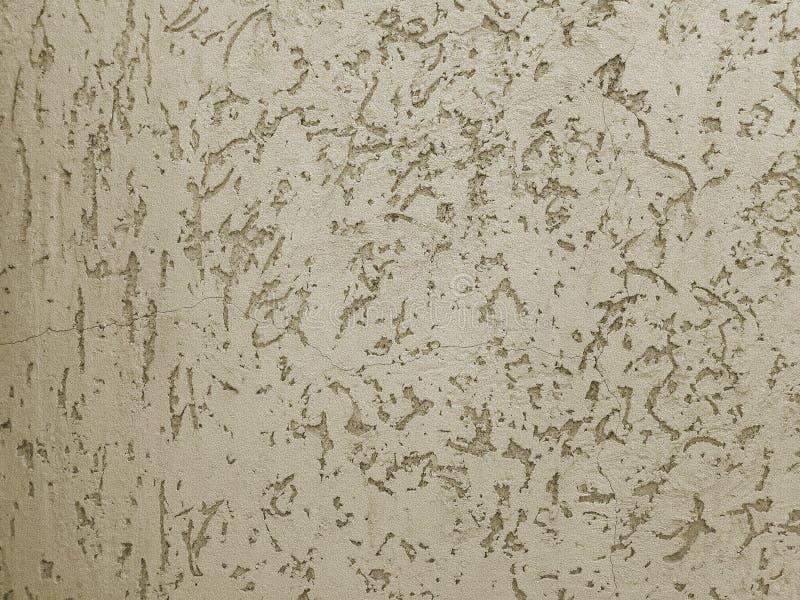Beschaffenheit des dekorativen Gipses für Wände Der Hintergrundgips lizenzfreies stockbild