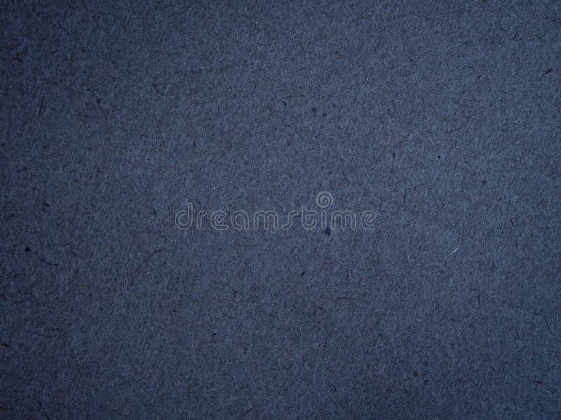 Beschaffenheit des dunkelblauen zerknitterten Kraftpapiers lizenzfreies stockfoto