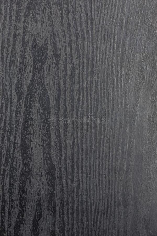 Beschaffenheit des dunklen Furnierholzes stockbild