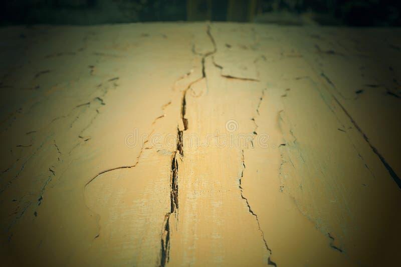 Beschaffenheit des gemalten Holzes Gemalte Vorst?nde H?lzerne Tabelle stockfoto