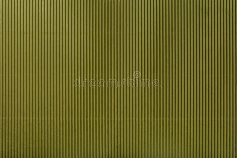 Beschaffenheit des gewölbten dunkelgrünen Papiers, Makro stock abbildung
