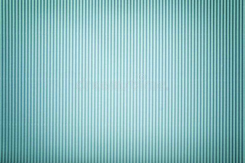 Beschaffenheit des gewölbten hellblauen Papiers mit Vignette, Makro lizenzfreie abbildung