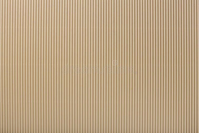 Beschaffenheit des gewölbten hellen beige Papiers, Makro lizenzfreie abbildung