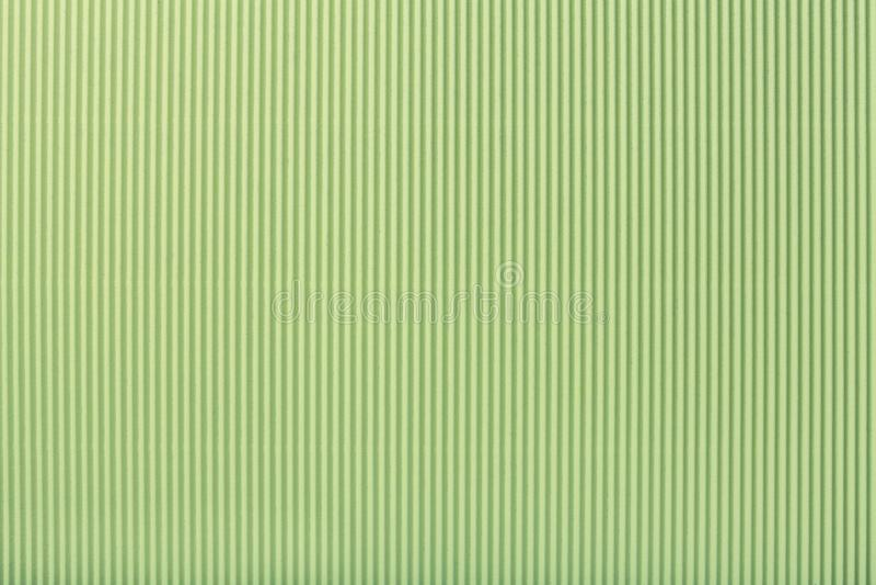 Beschaffenheit des gewölbten hellgrünen Papiers, Makro lizenzfreie abbildung
