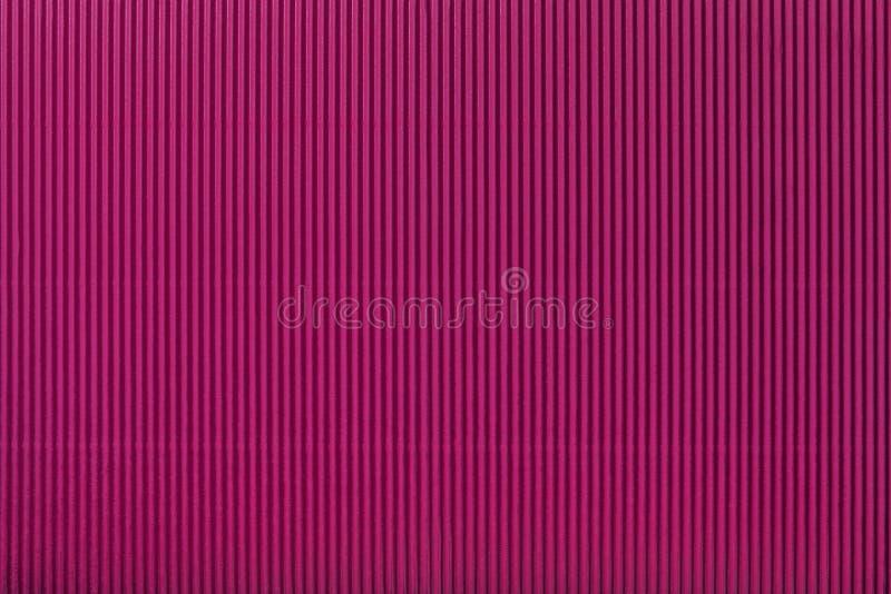Beschaffenheit des gewölbten purpurroten Papiers, Makro vektor abbildung
