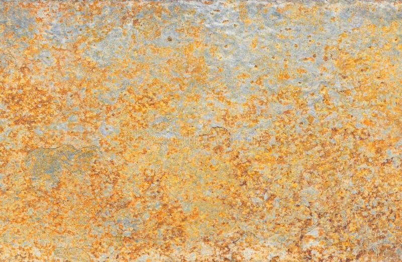 Beschaffenheit des goldenen silbernen farbigen Schiefermineralsteins lizenzfreie stockfotografie