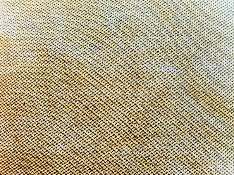 Beschaffenheit des grauen Gewebes im weißen Streifen Weinfabrik Neon stockbild