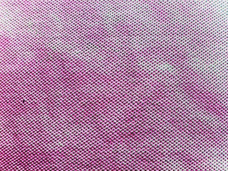 Beschaffenheit des grauen Gewebes im weißen Streifen Weinfabrik Neon lizenzfreie stockfotos
