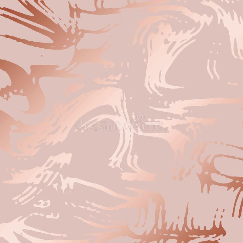 Beschaffenheit des Marmors mit Nachahmung des rosafarbenen Goldes Rosen-Marmor für das Design stock abbildung