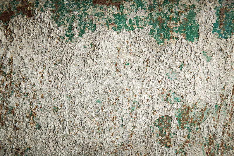 Beschaffenheit des rostigen Metalls und des Zementes lizenzfreies stockfoto