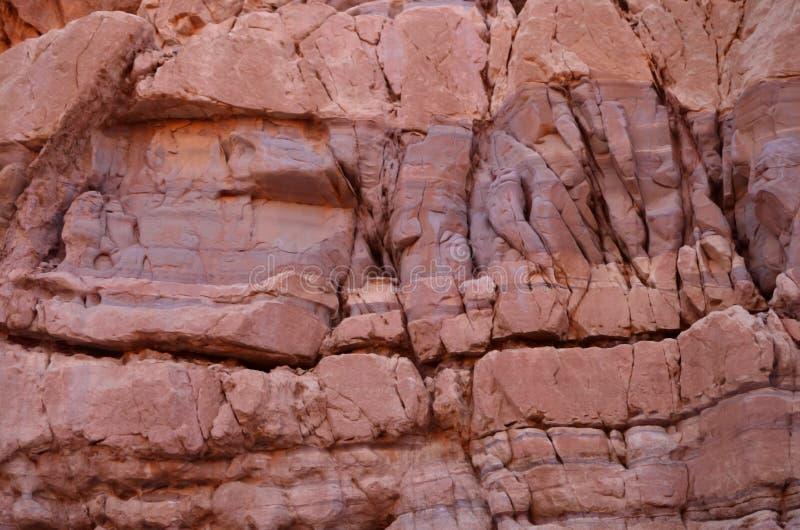 Beschaffenheit des Sandsteins der roten Schlucht stockfotografie