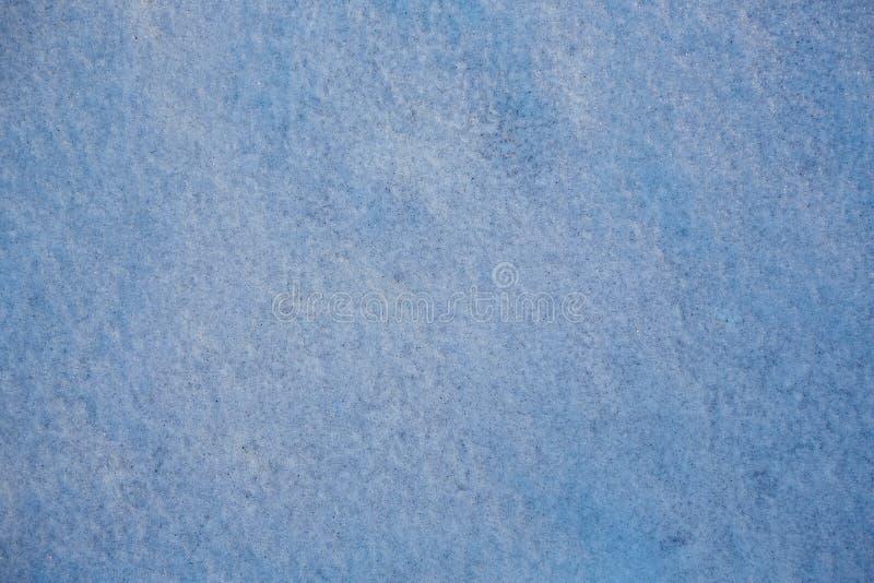 Beschaffenheit des schmutzigen Schnees stockfoto