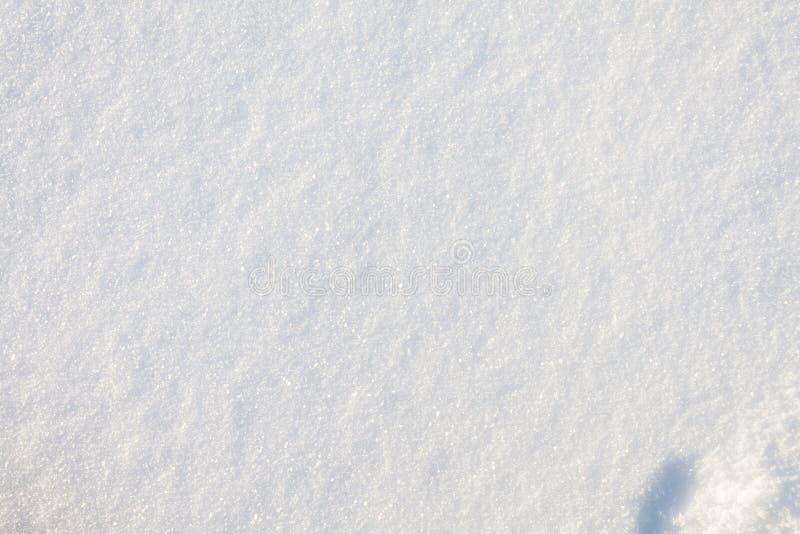 Beschaffenheit des Schnees lizenzfreies stockbild