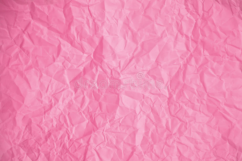 Download Beschaffenheit Des Zerknitterten Rosa Papiers Stockfoto - Bild von ränder, zerknittert: 90227412