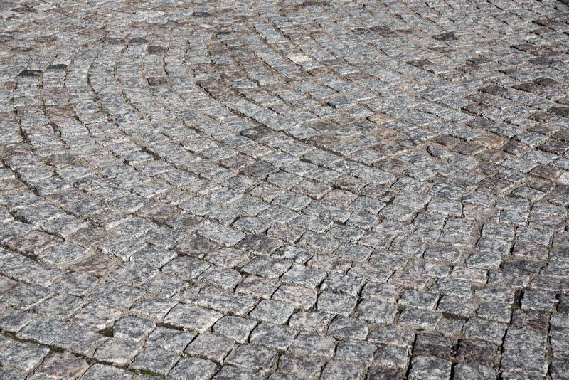 Beschaffenheit einer Steinpflasterungsgraufarbe lizenzfreies stockfoto