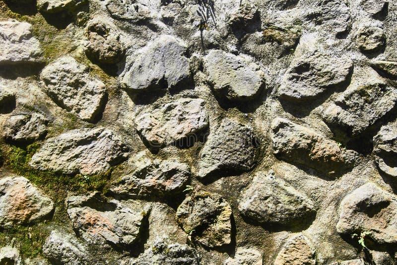 Beschaffenheit einer Steinwand Alter Schlosssteinwand-Beschaffenheitshintergrund Steinwand als Hintergrund oder Beschaffenheit lizenzfreies stockfoto