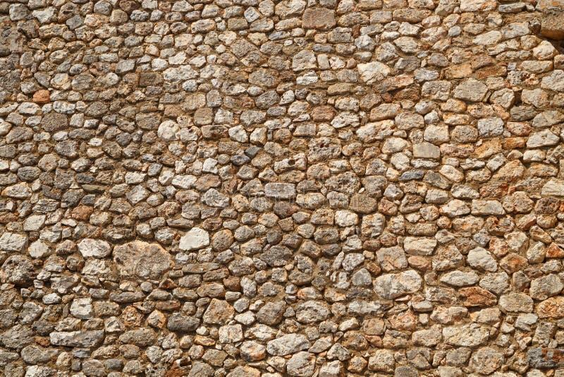 Beschaffenheit einer Steinwand Teil einer Steinfestung oder des Schlosses, für Hintergrund oder Beschaffenheit lizenzfreie stockbilder