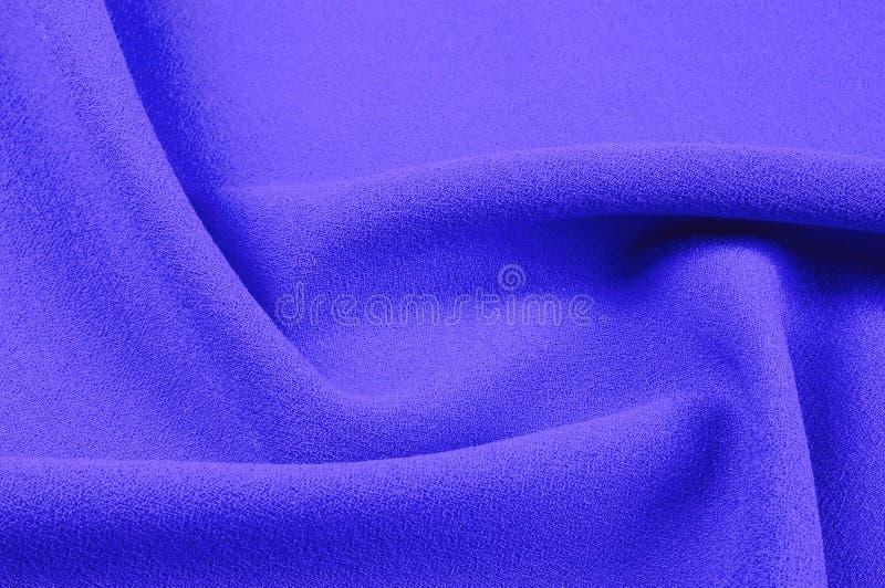 Beschaffenheit, Hintergrund, Muster Lila Seidengewebe Glattes elegantes stockbilder