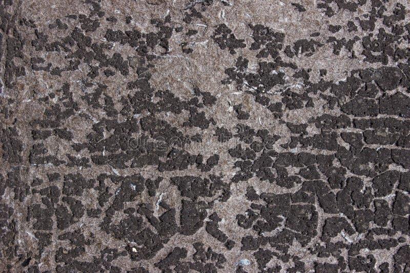 Beschaffenheit mit alter Oberfläche bedeckte ungleiche Stellen stockfoto