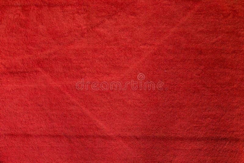 Beschaffenheit und Hintergrund des roten Teppichs lizenzfreie stockfotos