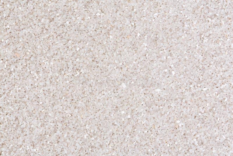 Beschaffenheit vom weißen Sand lizenzfreie stockfotos