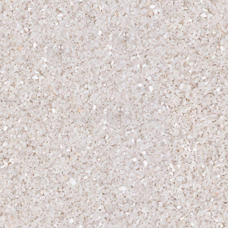 Beschaffenheit vom wei?en Sand Nahtlose quadratische Beschaffenheit, decken bereites mit Ziegeln lizenzfreie stockbilder